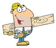 Homem do trabalhador Foto de Stock Royalty Free