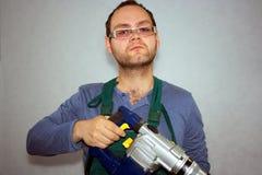 Homem do trabalhador Fotografia de Stock Royalty Free