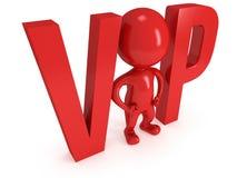 homem do VIP 3d Foto de Stock