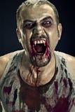 Homem do zombi fotografia de stock royalty free
