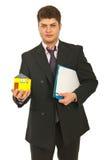 Homem dos bens imobiliários Fotos de Stock Royalty Free
