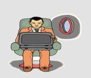 Homem dos buissnes do curso Foto de Stock