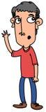 Homem dos desenhos animados Imagem de Stock