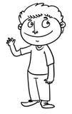 Homem dos desenhos animados Fotografia de Stock
