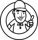 Homem dos desenhos animados Imagens de Stock Royalty Free