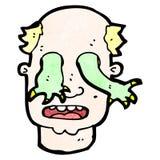 homem dos desenhos animados possuído Fotografia de Stock