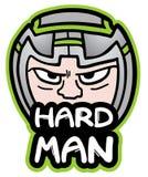 Homem duro Foto de Stock