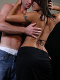 Homem e mulher Fotografia de Stock Royalty Free