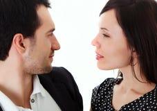 Homem e mulher Fotos de Stock