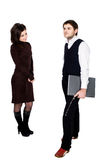 Homem e mulher Imagem de Stock