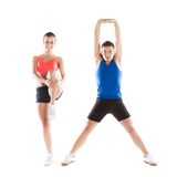 Homem e mulher atléticos Foto de Stock