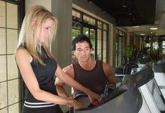 Homem e mulher que exercitam 6 Imagens de Stock