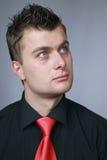 Homem em um laço Imagem de Stock Royalty Free