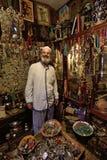 Homem em um mercado, C4marraquexe, Marrocos Imagem de Stock Royalty Free