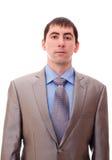Homem em um terno e em um laço Foto de Stock Royalty Free