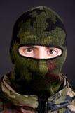 Homem em uma máscara Imagens de Stock