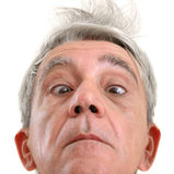 Homem engraçado Foto de Stock Royalty Free