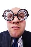 Homem engraçado Fotos de Stock Royalty Free