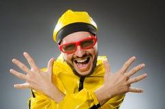 Homem engraçado Fotografia de Stock