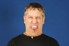 Homem enojado Foto de Stock Royalty Free