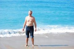 Homem envelhecido médio considerável Imagem de Stock Royalty Free