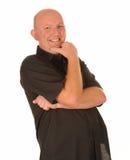 Homem envelhecido médio de riso Imagens de Stock Royalty Free