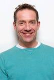 Homem envelhecido médio de sorriso Imagem de Stock Royalty Free