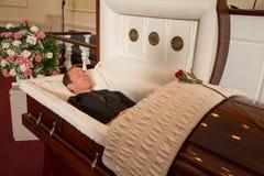 Homem falecido Fotografia de Stock