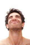 Homem feliz fotos de stock royalty free