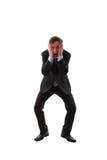 Homem frustrante Imagem de Stock Royalty Free