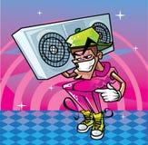 Homem Funky Ilustração do Vetor