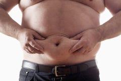 Homem gordo Foto de Stock