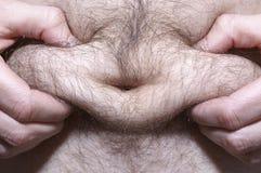 Homem gordo Fotografia de Stock