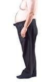 Homem gordo fotos de stock