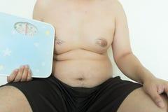 Homem gordo Foto de Stock Royalty Free