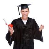 Homem graduado imagens de stock royalty free