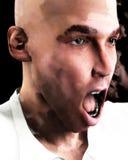 Homem gritando 6 Fotografia de Stock Royalty Free