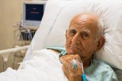 Homem idoso foto de stock