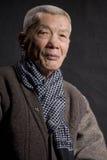 Homem idoso de Ásia Imagem de Stock Royalty Free