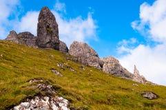 Homem idoso de Storr, ilha de Skye Imagens de Stock Royalty Free