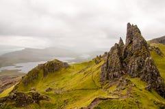 Homem idoso de Storr, ilha de Skye Fotografia de Stock Royalty Free