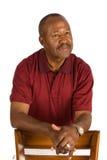 Homem idoso do americano africano. imagem de stock