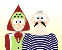 Homem idoso e mulher Imagem de Stock Royalty Free
