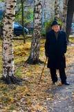 Homem idoso elegante Imagem de Stock Royalty Free