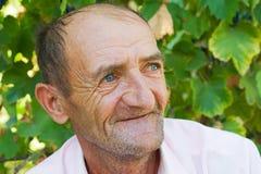 Homem idoso feliz Fotos de Stock