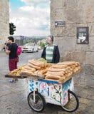 Homem idoso, judeu. Israel, Jerusalém. Profissão, o Foto de Stock