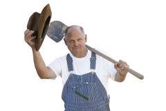 Homem idoso polido Fotos de Stock Royalty Free