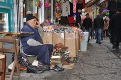 Homem idoso - sapateiro Imagens de Stock Royalty Free