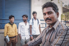 Homem indiano Foto de Stock Royalty Free