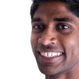 Homem indiano de sorriso fotos de stock royalty free